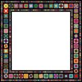 几何抽象的框架 库存图片