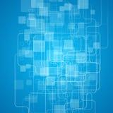 几何抽象的背景 也corel凹道例证向量 免版税库存图片
