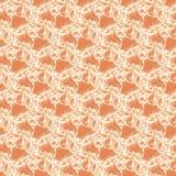 几何抽象的背景 规则复杂三角样式米黄浅褐色的赤土陶器 向量例证