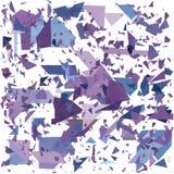 几何抽象的背景 起爆背景 向量例证EPS10 免版税图库摄影