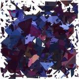 几何抽象的背景 起爆背景 向量例证EPS10 库存照片