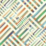 几何抽象的背景 库存图片