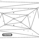 几何抽象的背景 库存照片