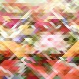 几何抽象的背景 库存例证