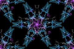 几何抽象的背景 abstact艺术深深数字式红色转动 向量例证
