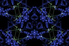 几何抽象的背景 abstact艺术深深数字式红色转动 皇族释放例证