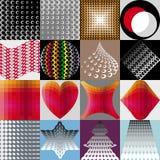 几何抽象的装饰 皇族释放例证