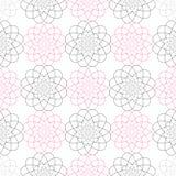 几何无缝的传染媒介样式 简单的纹理 几何样式 免版税库存照片
