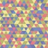 几何无缝的传染媒介样式 库存图片