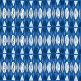 几何无缝的样式种族背景 免版税库存图片