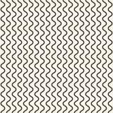 几何无缝的样式,垂直的稀薄的波浪线,曲线,挥动 向量例证