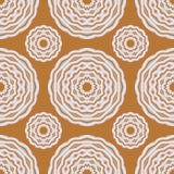 几何无缝的样式,时髦抽象花卉纹理 皇族释放例证
