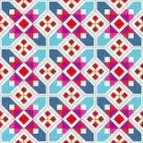 几何无缝的样式 免版税图库摄影