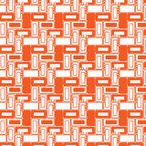 几何无缝的样式 免版税库存图片