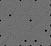 几何无缝的模式背景 简单的图表印刷品 重复线纹理的传染媒介 现代样片 Minimalistic形状 库存例证