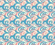 几何无缝的模式背景 免版税库存照片