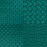 几何无缝的模式背景 库存例证