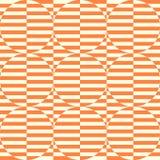 几何无缝的模式背景 库存图片