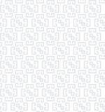 几何无缝的灰色样式 向量例证