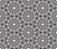 几何星形状样式传染媒介 库存照片