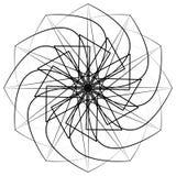 几何样式对称 免版税图库摄影