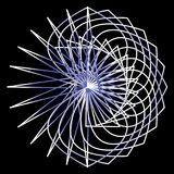 几何样式对称 免版税库存照片