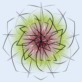 几何样式对称 免版税库存图片