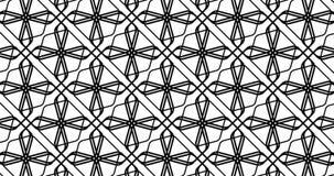 几何样式盘旋的动画 皇族释放例证