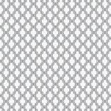 几何样式简单的时尚织品印刷品 重复瓦片纹理的传染媒介 条纹线性交叠其中每一 唯一颜色,黑和 皇族释放例证