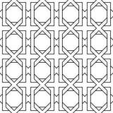 几何样式背景 向量例证