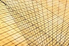 几何桌栅格 免版税库存照片