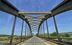 几何桥梁 库存照片