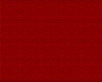 几何模式红色 免版税库存照片