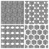 几何模式 免版税库存照片