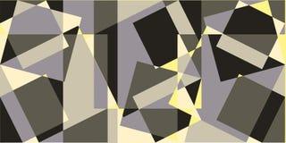 几何横幅 库存照片