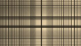几何正方形抽象运动白色背景 黑线栅格任意地翻转与白色 股票录像