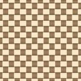 几何正方形摘要无缝的样式背景 向量例证