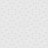 几何浅灰色的背景样式 免版税库存图片