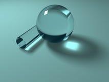 几何玻璃 库存照片