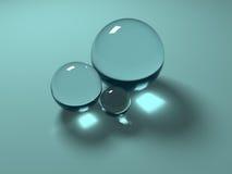 几何玻璃 库存图片