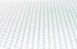 几何白色背景未来 免版税库存图片