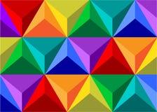 几何的图 图库摄影