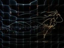几何的数字 免版税库存图片