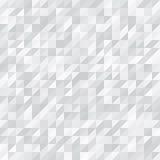 几何的背景 白色和灰色三角 图库摄影