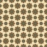 几何种族无缝的样式 抽象阿兹台克背景 数字式或包装纸 图库摄影