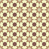 几何种族无缝的样式 抽象阿兹台克背景 数字式或包装纸 免版税库存图片