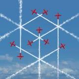 几何立方体概念 免版税库存照片