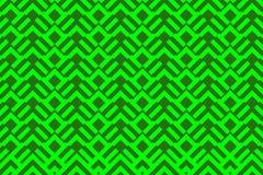 几何绿色样式 库存照片