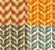 几何编织的样式 库存例证