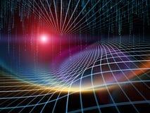 几何能量 库存图片